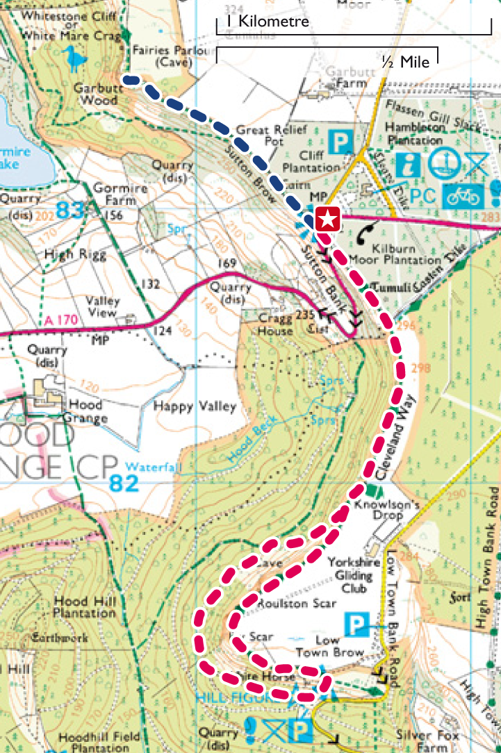 Abbey National Bank >> Enjoy a great view at Sutton Bank: day or night!   Top 10 Trails