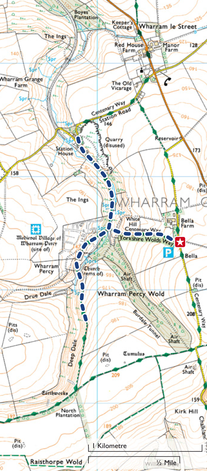 Discover the lost village of Wharram Percy | Top 10 Trails