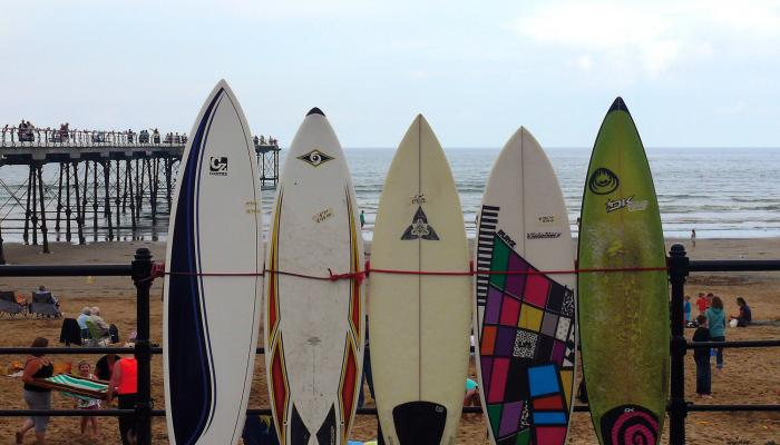 Surf Boards © Elaine Haworth