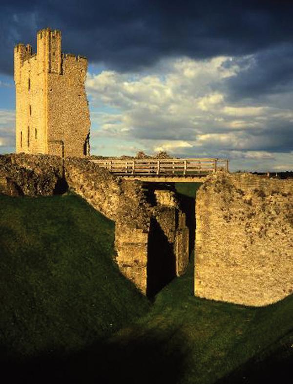 Helmsley Castle © English Heritage